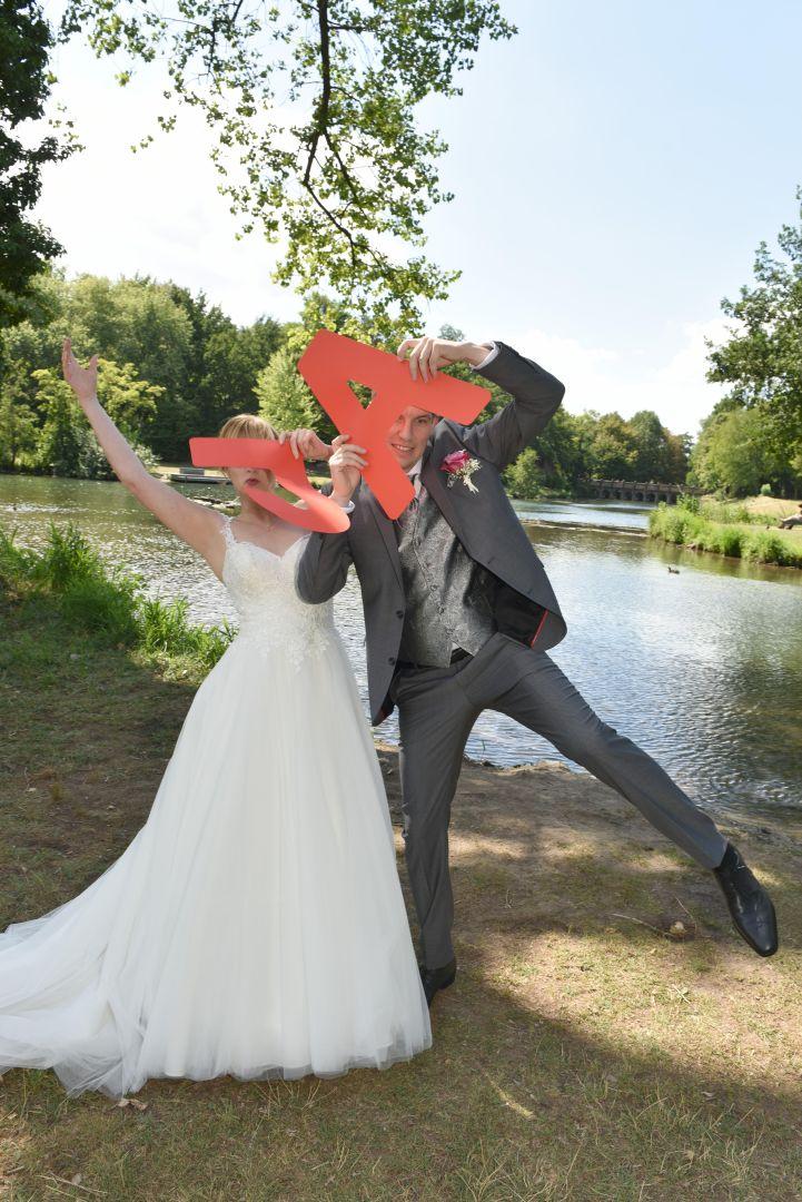 Hochzeitsfotos im Grünen Winkel Lippstadt