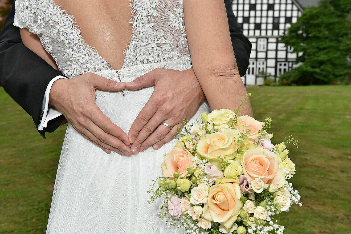 Hochzeit auf dem Uphof in Bielefeld-Jöllenbeck
