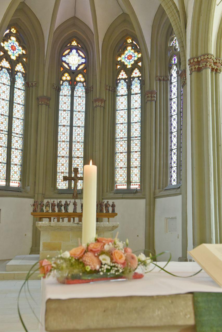 kirchliche Trauung in Lemgo
