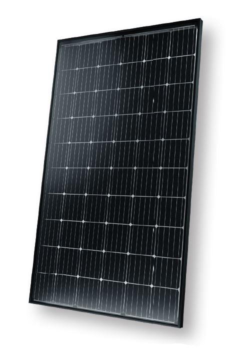 Solarmodule für Reihenhaus