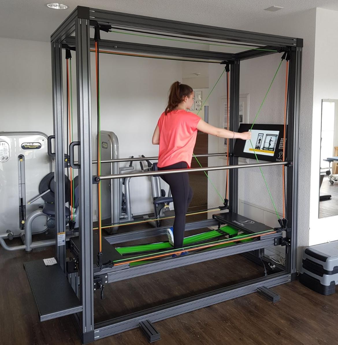 Sensopro-Trainer: im Fitness-Abonnement inbegriffen