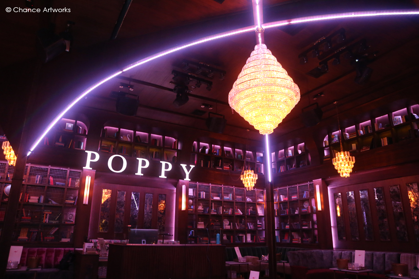 Party at Poppy Night Club in LA.