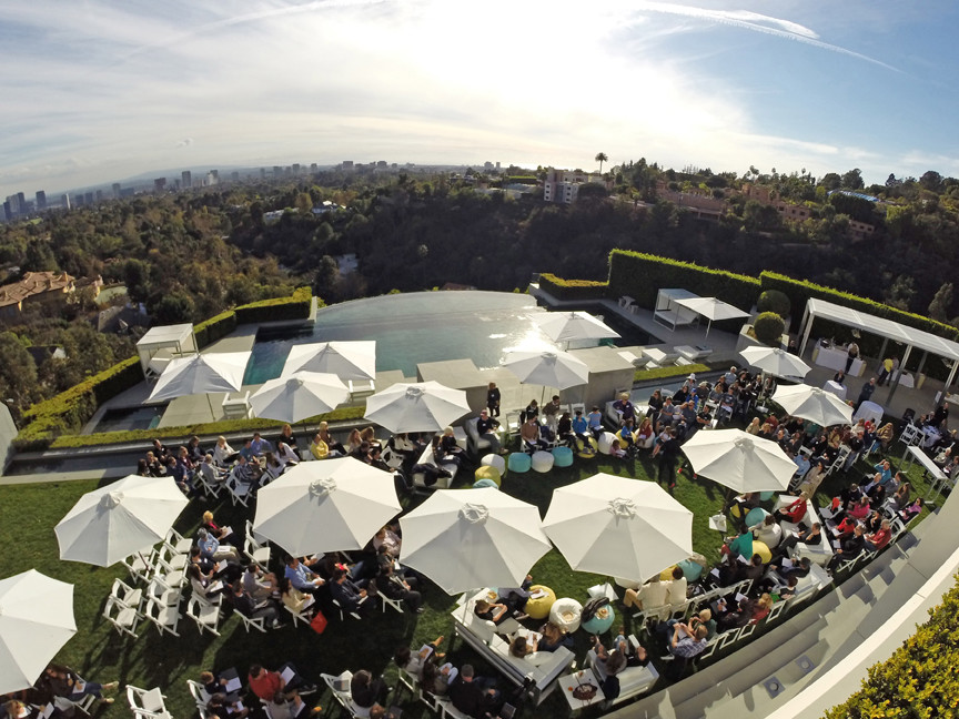 Private party in Los Angeles.