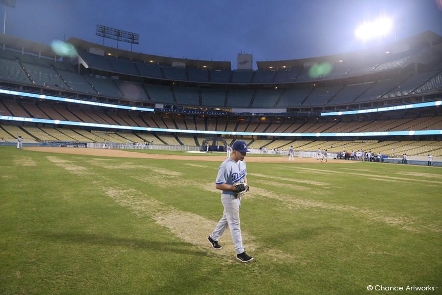 Private event at Dodgers Stadium.