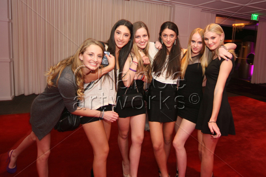 Sweet Sixteen birthday party at the SLS Hotel in Beverly Hills.