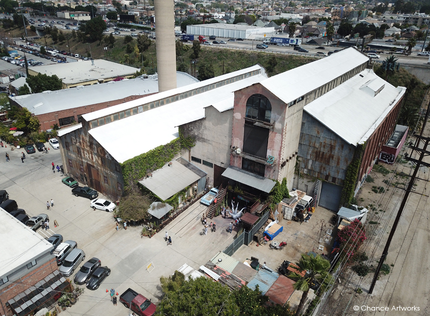 Brewery Artwalk - Drone / Aerial photography