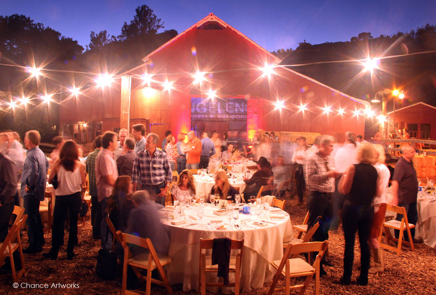 Party at Ojai Valley Resort and Spa.
