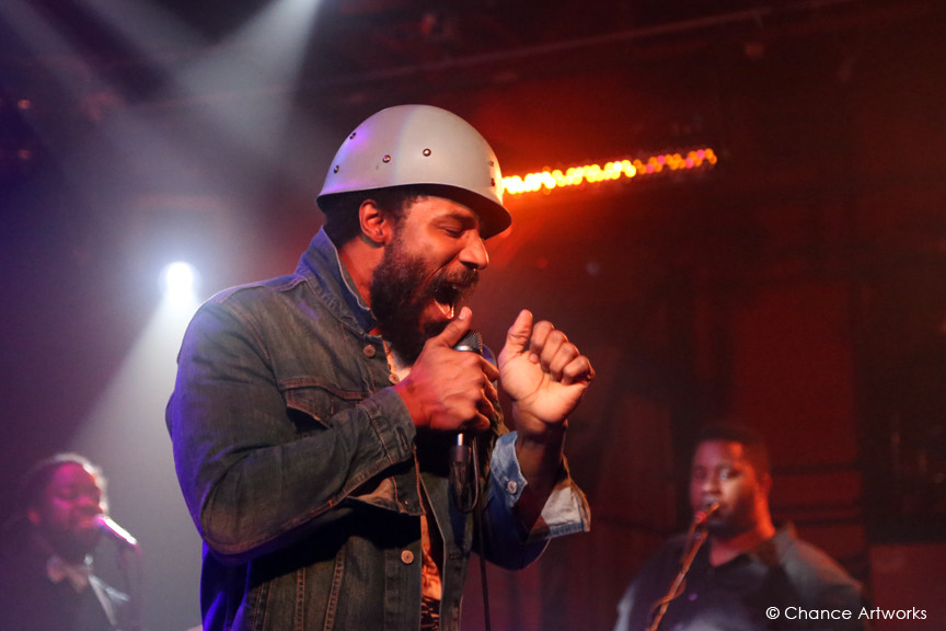 Cody Chesnutt performance at The Troubadour in West Hollywood.