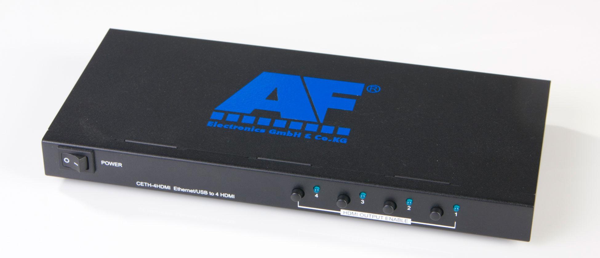 PC to TV Signaltransmission - Retail electronics, HDR Verteilverstärker