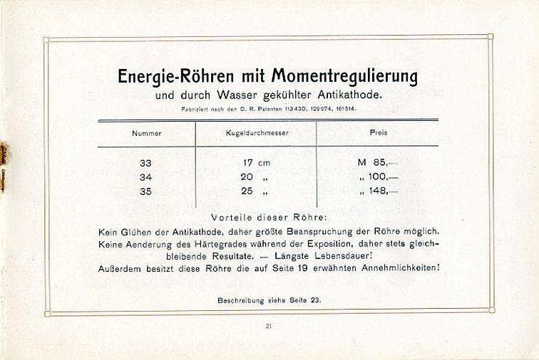 Energie-Röhren mit Momentenregulierung Preise und Durchmesser