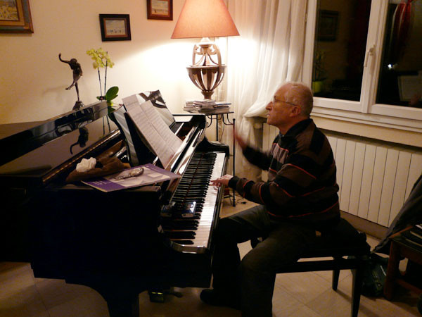 Le piano est plus précis que la voix !
