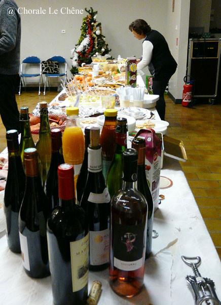 Toujours riche en bouteilles diverse !