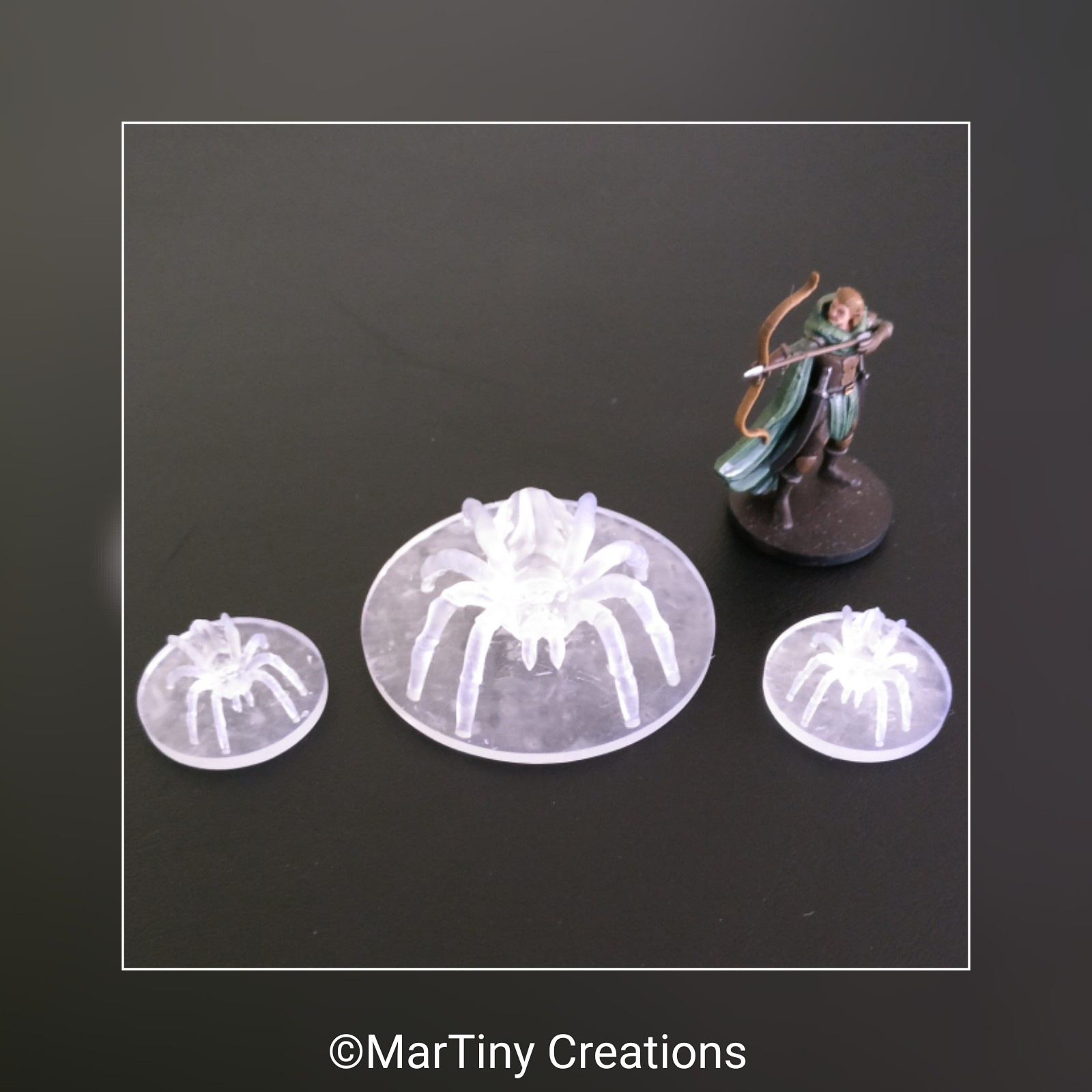 MarTiny Creations - Giant Spiders