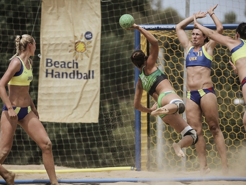 European Beach Handball Championship Lloret de Mar 2015 Spain - Beach Handballtore