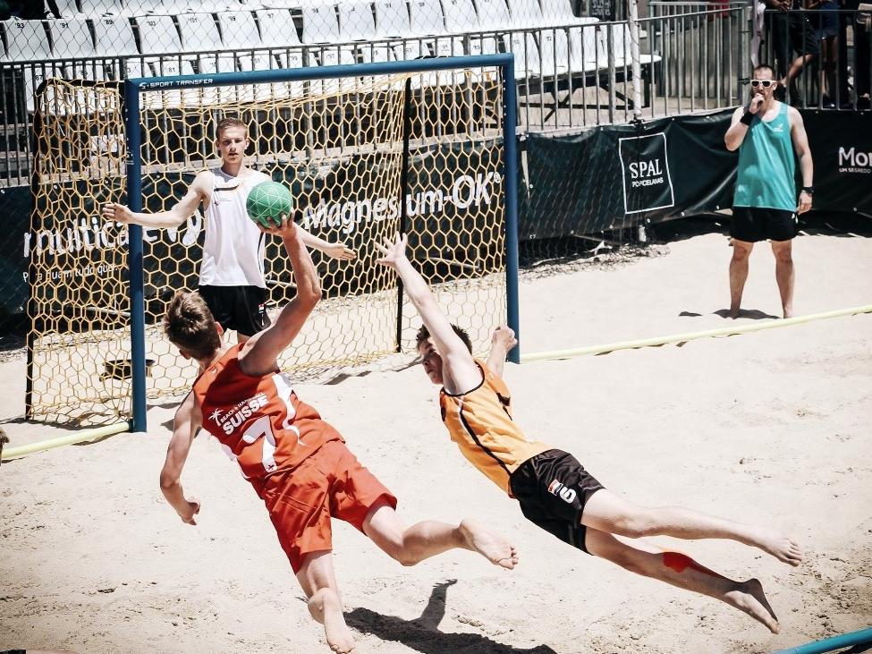 EHF EURO Beach Handball U16 Nazare  2016 Portugal - Beach Handballtore