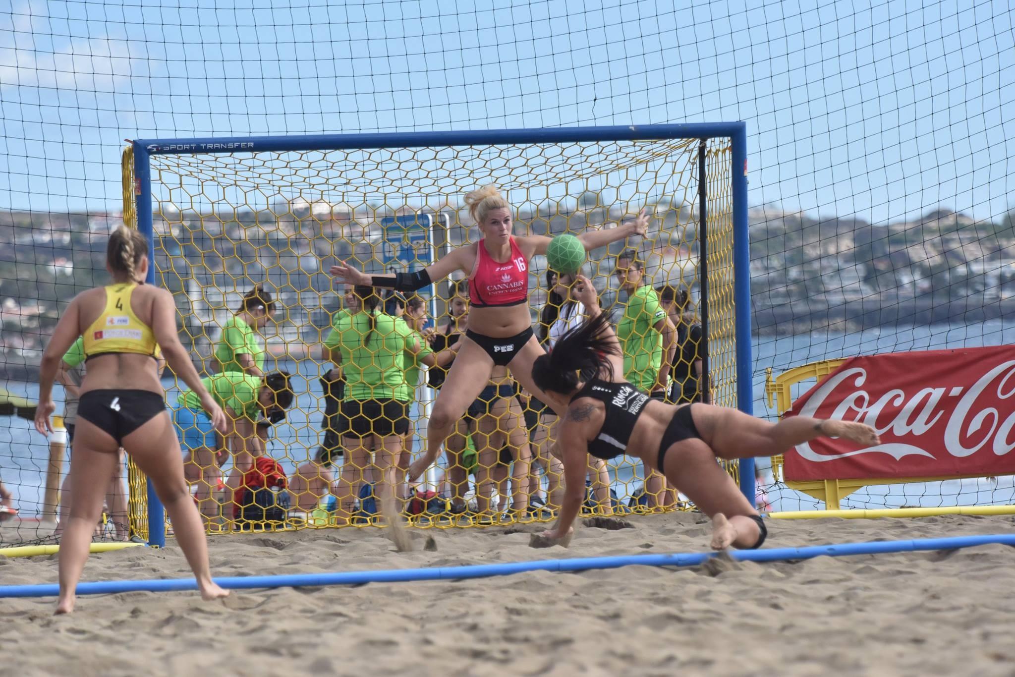 EHF Beach Handball Champions Cup Gran Canaria - Professionelle EHF Beach-Handballtore
