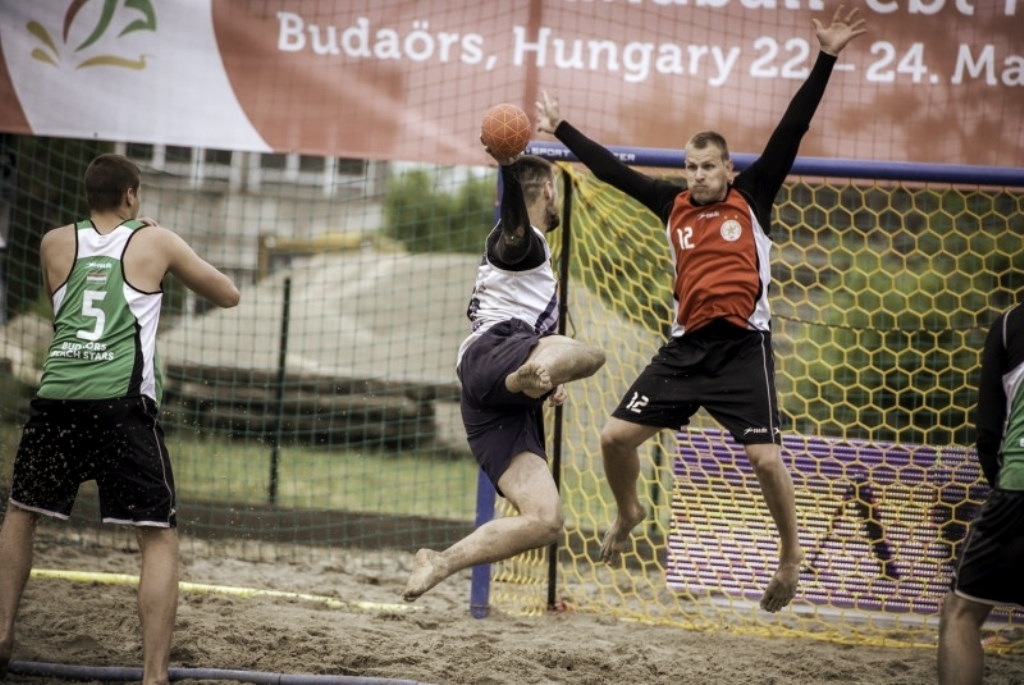 European Beach Handball Tour Final Budaörs 2015  Ungarn - Beach Handballtore