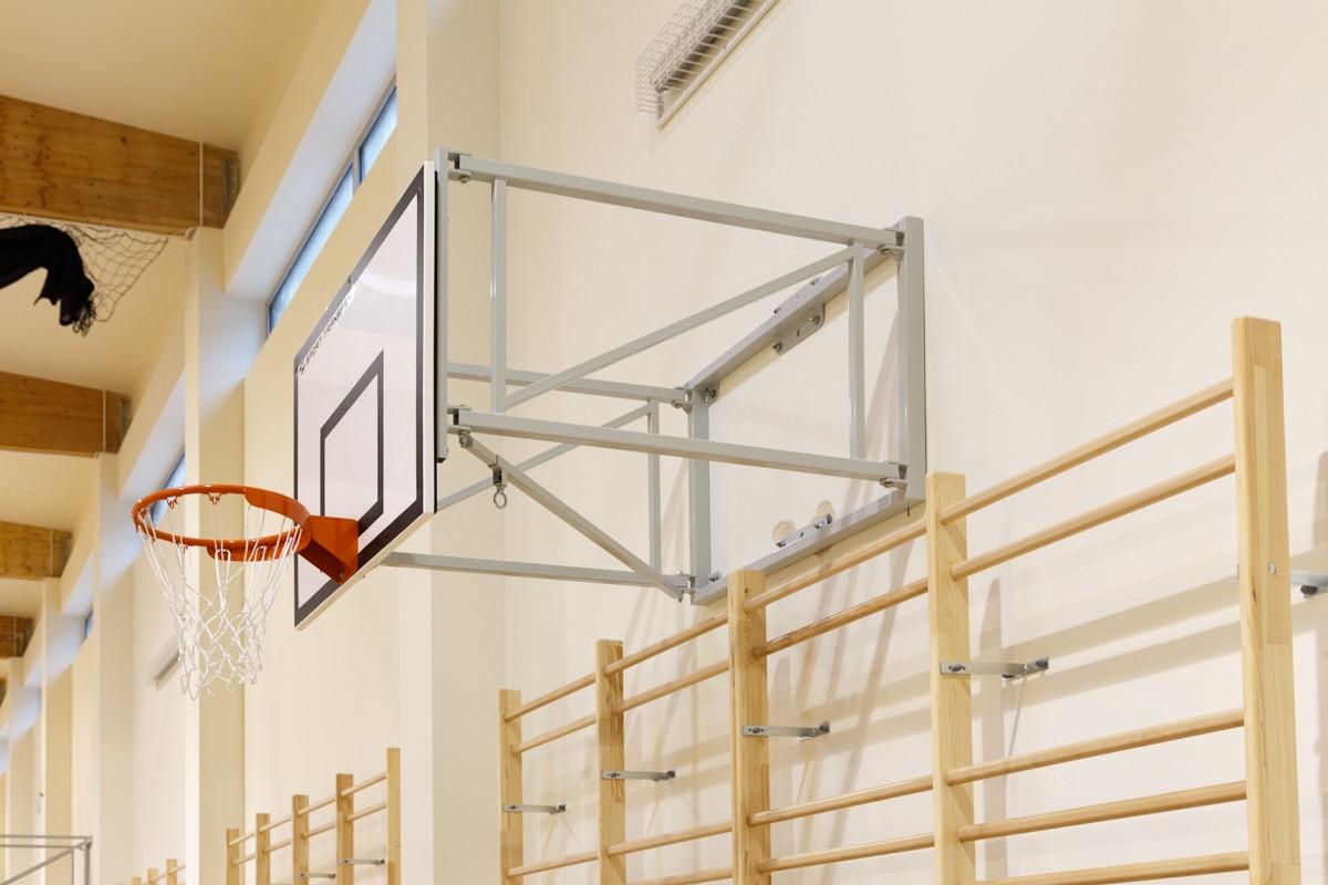 Sporthalle Oberschule Kielce 2016 - Basketballkonstruktionen schwenkbar