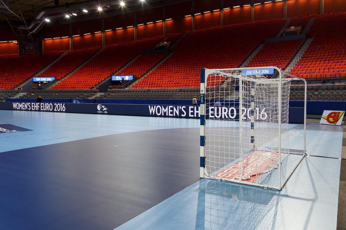 WOMEN´S EHF EURO 2016 Schweden - Professionelle EHF Handballtore, Tornetze, Fangnetze