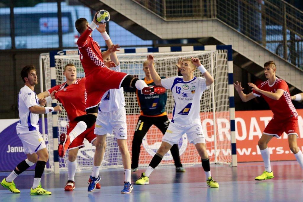 EHF M18 EURO 2016  Croatien - Professionelle EHF Handbaltore, Tornetze, Fangnetze