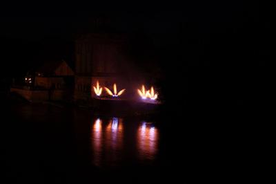 Fontänenfächer mehrfach, Wasserfeuerwerk, PYRO-SCHOB SHOP, Germany