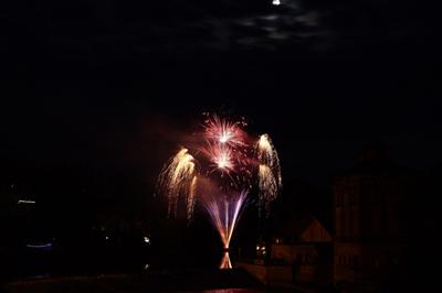Feuerwerk auf der Saale, PYRO-SCHOB SHOP, Germany