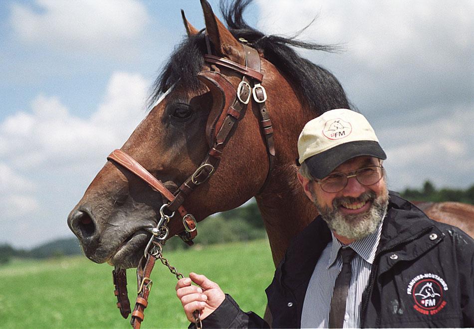 L'éducation et la formation du jeune cheval de travail Part 2 - The education of the young working horse Part 2