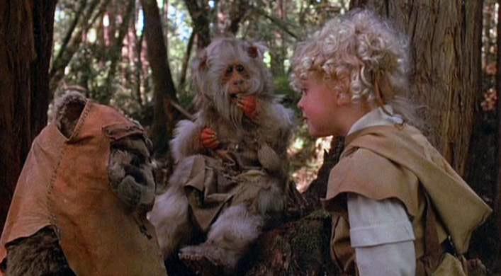 L'Aventure Des Ewoks - La Bataille Pour Endor de Jim Wheat & Ken Wheat / 1985 / Fantastique