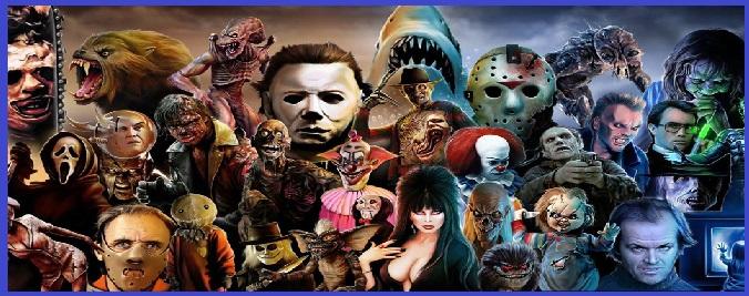 Personnages mythiques de l 39 univers horreur fantastique horror - Personnage film horreur ...