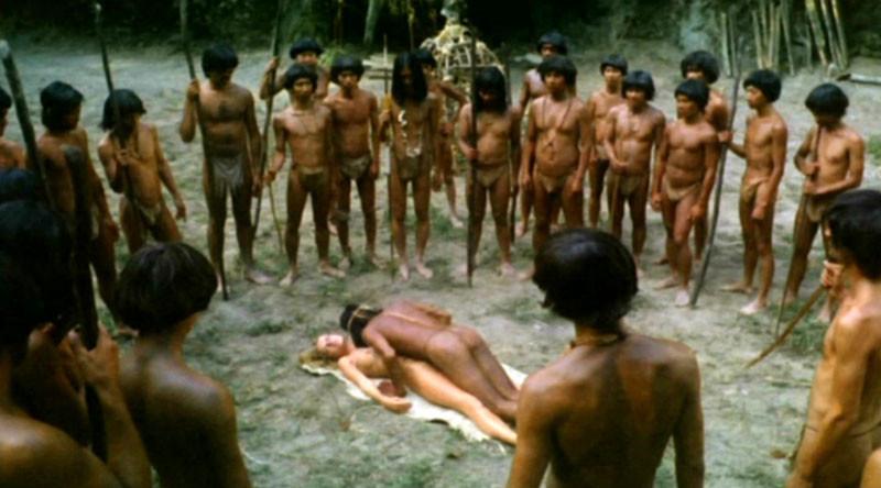 Emmanuelle Et Les Derniers Cannibales de Joe D'Amato - 1977 / Horreur