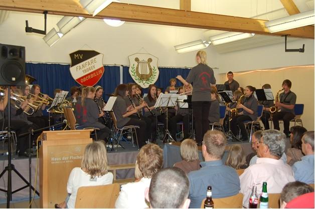 2011 - Eigenständiges Konzert des Jugendorchesters im HDF