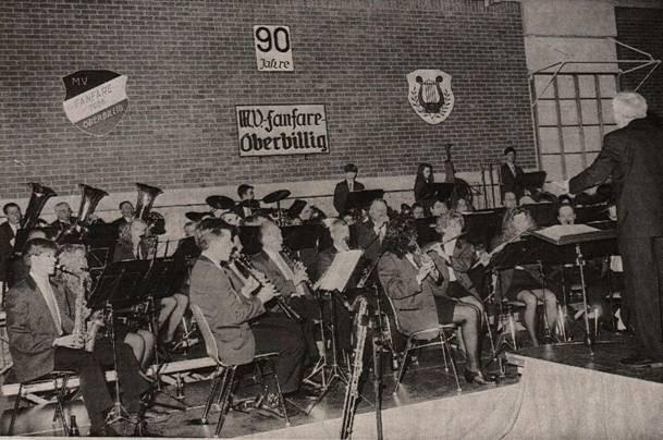 1996 - Konzert anlässlich des 90-jährigen Stiftungsfestes in Wasserliesch