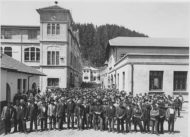 Main entrance in 1920's