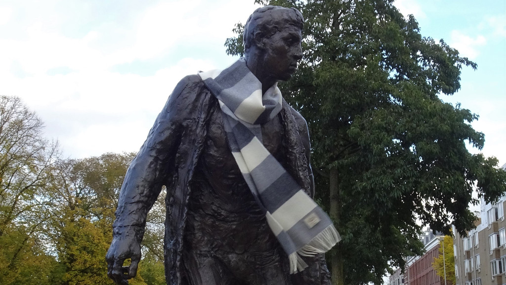 Thick Striped Scarf