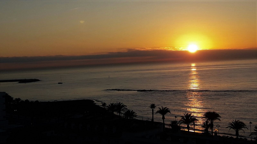 Sunrise in Southern Spain