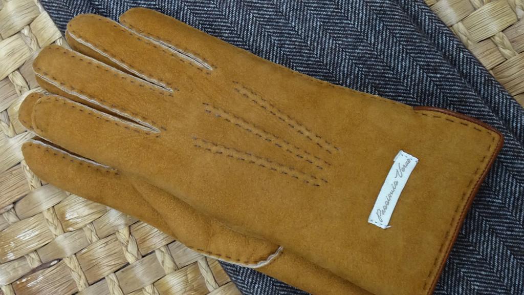 Sheepskin mittens