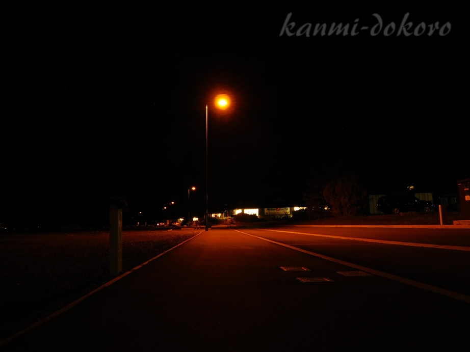 レイクテカポの夜