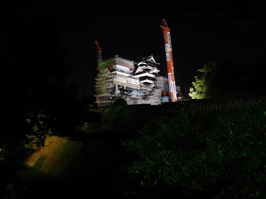 熊本城ライトアップ
