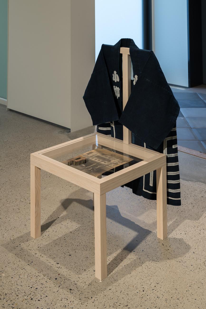 """""""chair, barrack architecture, Koyanagi-shoten"""", 2017"""