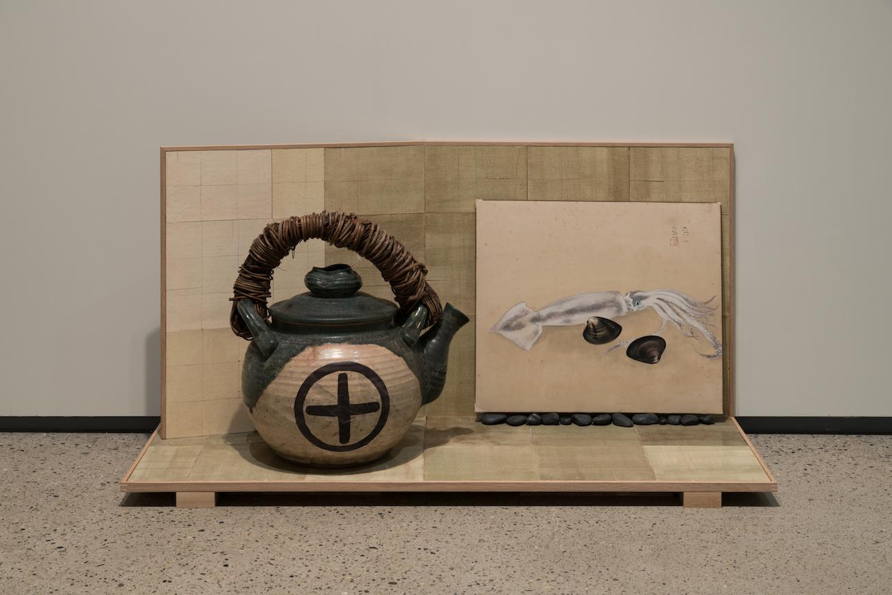 """chopping board, display shelf, Toho Koyanagi"", 2017"