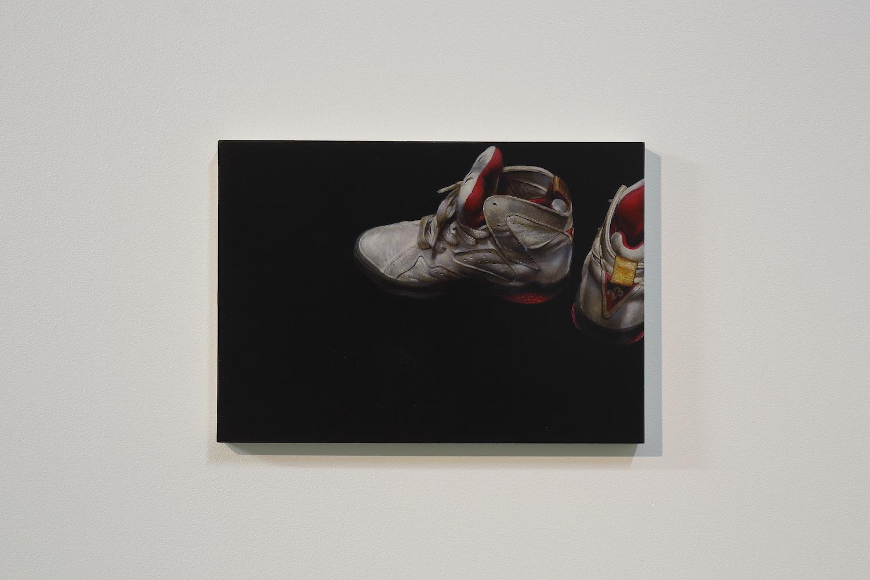Arisa Kumagai, JORDAN 1991-2019, 2019, oil on panel, 21 x 29.7 cm