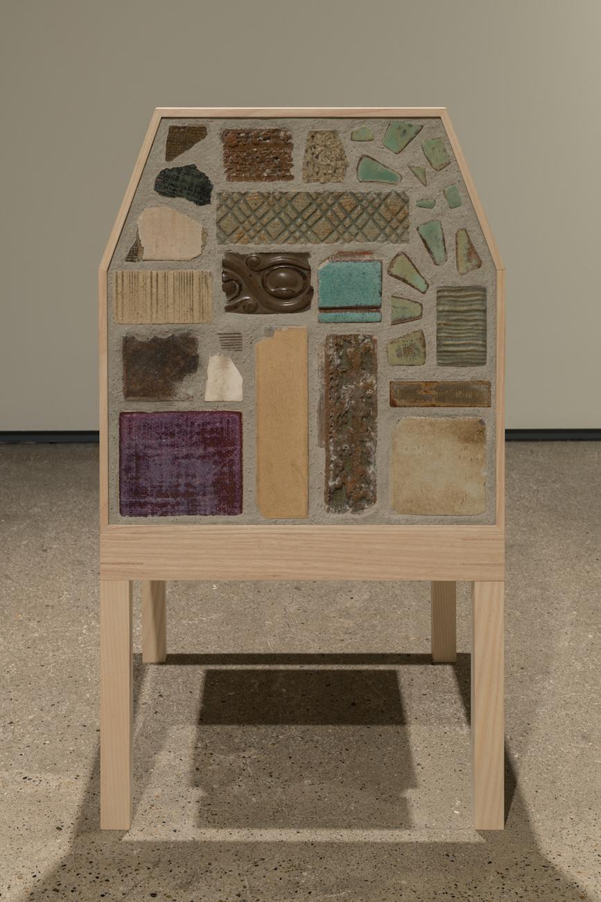 """""""chair, barrack architecture, Café Kirin"""", 2017"""