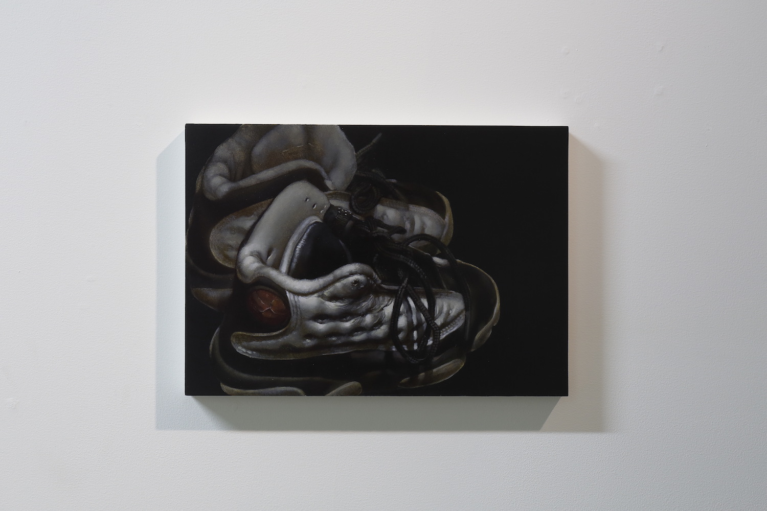 Arisa Kumagai, JORDAN 1991-2019, 2019, oil on panel, 21 x 29.7 cm
