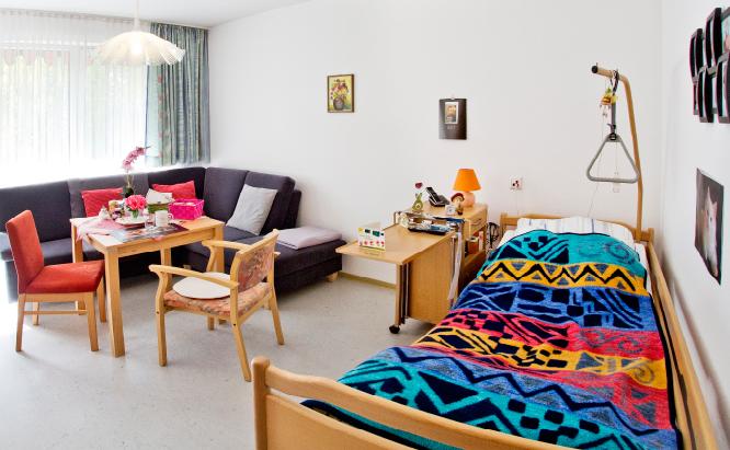 Ganz privat: individuell gestaltete Zimmer mit Balkon