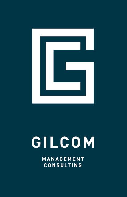 Gilcom GmbH Bern: Entwicklung Logo Design: Schrift- und Bildzeichen by Lockedesign, Burgdorf bei Bern