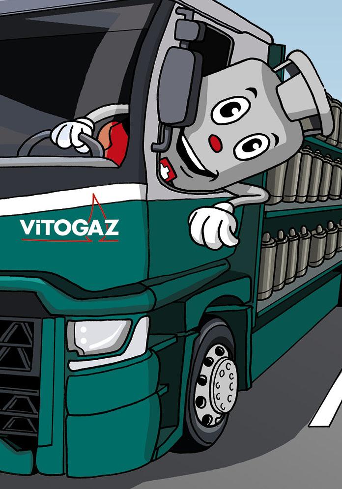 Vitogaz Kindermalbuch: Idee, Konzept und Illustrationen by Lockedesign – Atelier für Grafik und Illustration in Burgdorf, Bern