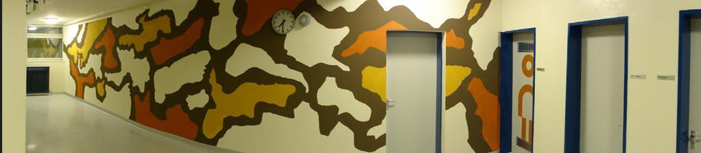 Treppenhaus Wand UG