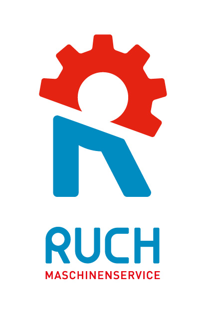 Ruch Landmaschinenservice: Entwicklung Logo by Lockedesign, Burgdorf (Bern): Geschäftsauftritt (Logo Design) Gestaltung Visitenkarte, Couverts und Bekleidung