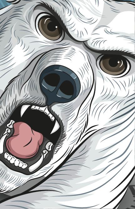 ESA Tecar Kampagne Winterreifen: Konzept, Idee und Illustration Werbe Kampagne by Lockedesign Bern