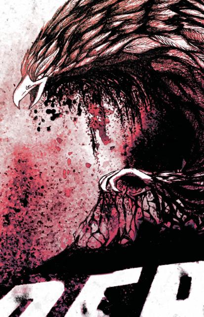"""Scream your Name """"Reborn"""": Illustration, Kohle-Zeichnung Album Cover (Inlay und CD Scheibe) Konzert Plakat Design by Lockedesign Bern"""